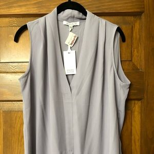 NWT-Rose+Olive lavender size L sleeveless top